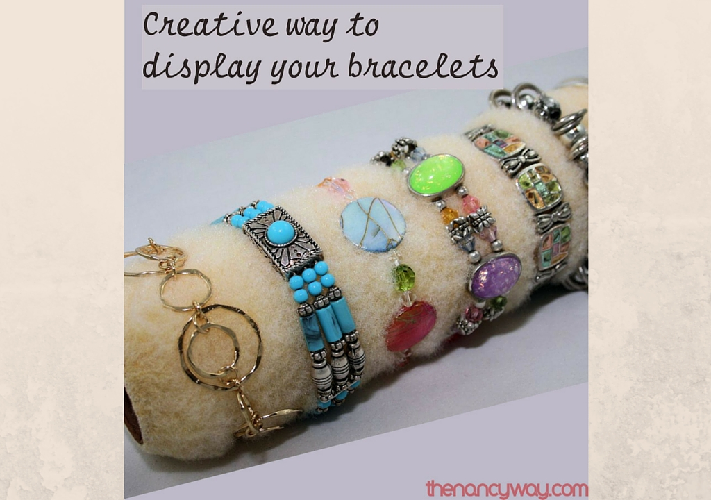 Creative Way to Display your Bracelets