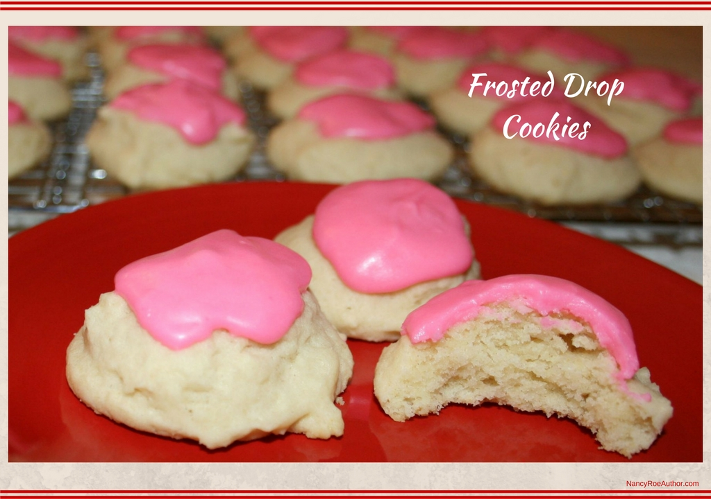 Frosted Drop Cookies