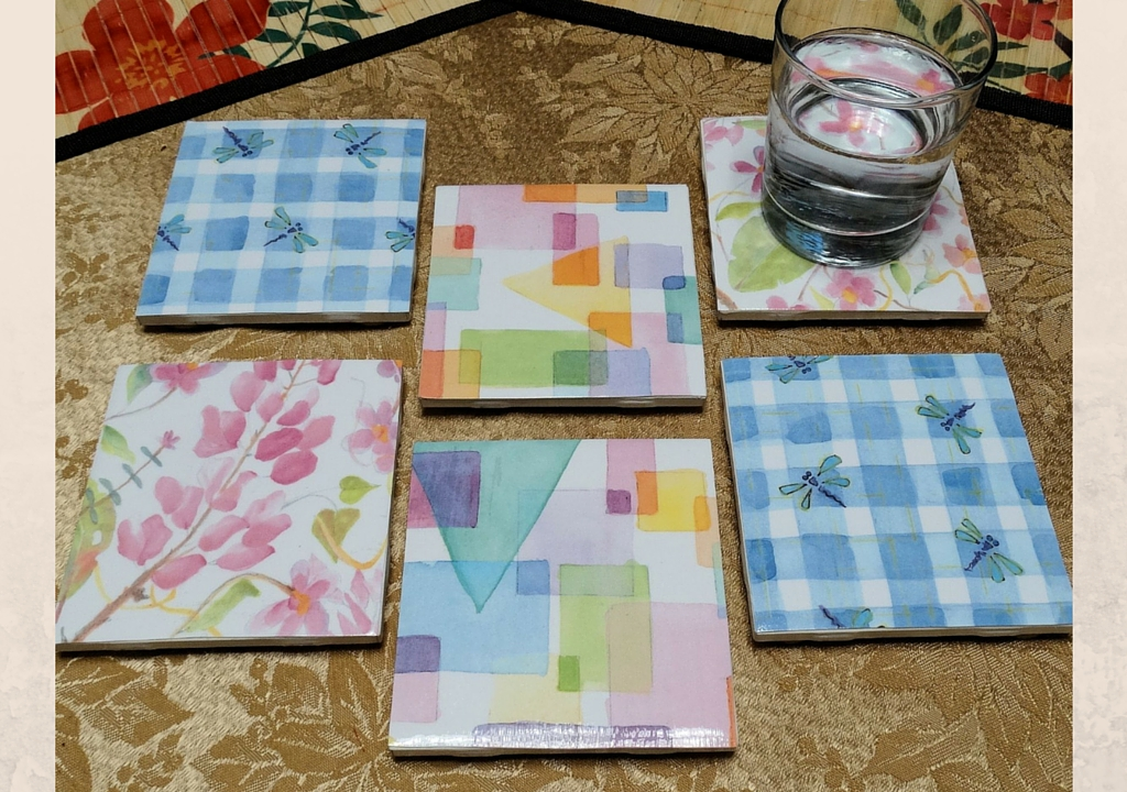 make your own coasters nancy roe author the nancy way
